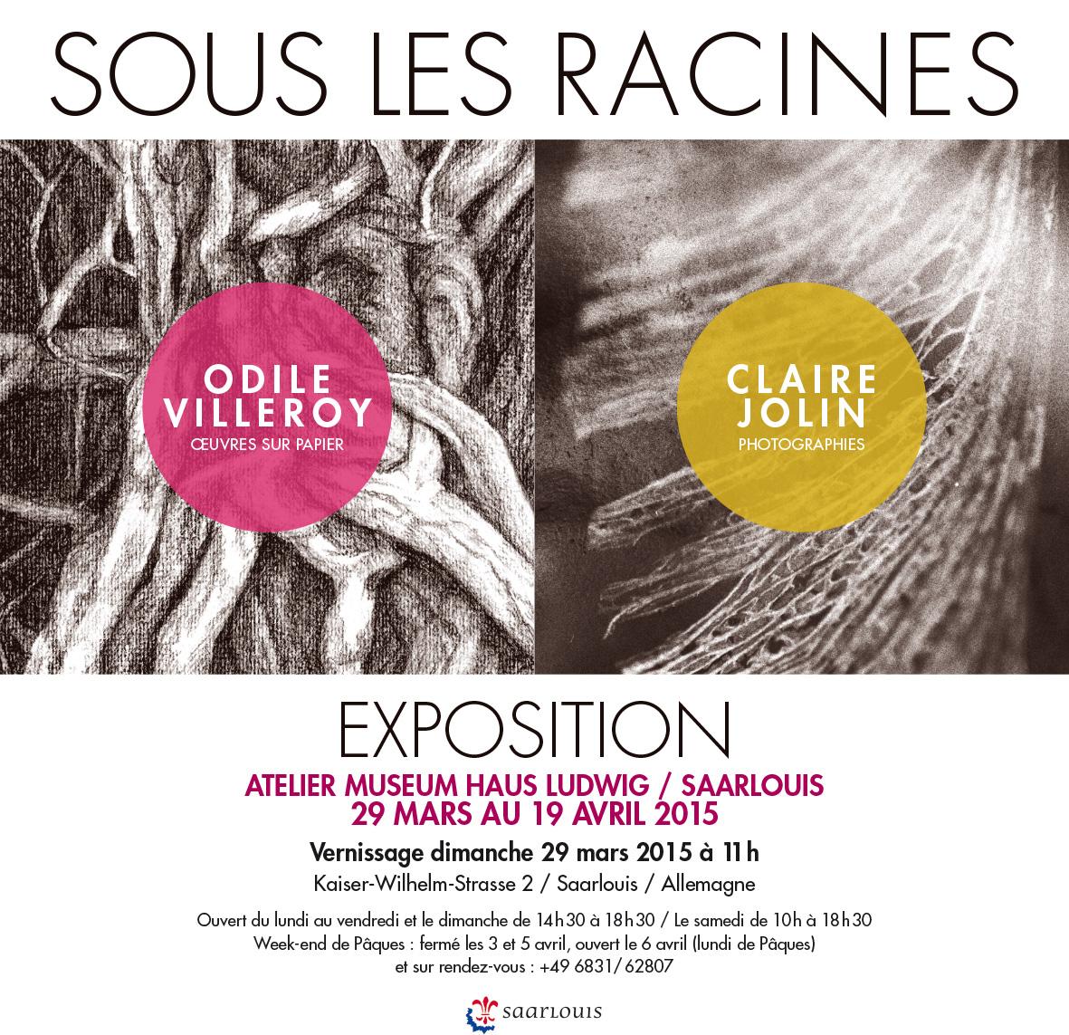 """Exposition """"Sous les racines"""" au Museum Haus Ludvig à Saarlouis"""